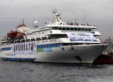 File photo of the Mavi Marmara.