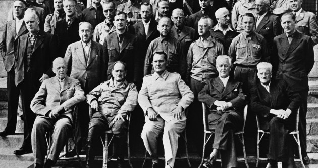 On this day in 1945, Hitler's henchmen faced the Nuremberg trial