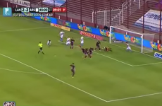 This could probably be the craziest goal you've ever seen