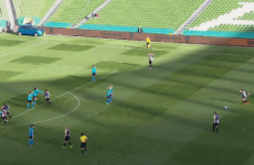 Katie McCabe scores a thunderous 35-yard free-kick in the FAI Cup final