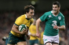 Analysis: Australia's first-half width drags Ireland out of comfort zone