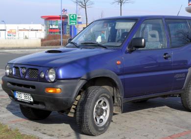 A Nissan Terrano (file pic)