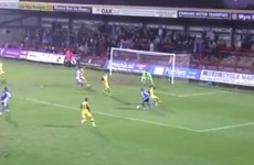 This sensational rabona from the FA Trophy is surely the goal of the weekend