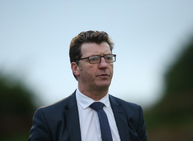 Roddy Collins was unapologetic about his controversial League of Ireland comments.