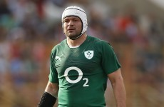 Ireland and Schmidt dealt blow as Rory Best is ruled out of Boks clash