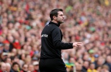 Being talented and opinionated as a player will help Rory Gallagher as Donegal manager