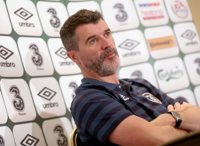 Keane insists the players must enjoy playing in a green shirt.