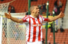 Do we see the best of Jon Walters in an Ireland jersey? He's scored again today for Stoke