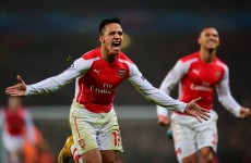 The last 16 beckons as Arsenal defeat Dortmund at The Emirates