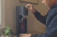 This is what happens when you try to make sparkling wine with a Soda Stream