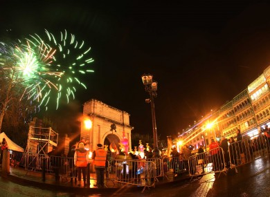Last year's celebrations