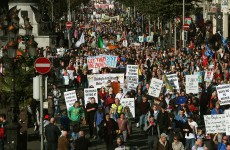 Liveblog: Protests against water charges