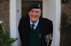 Irish D-Day veteran dies just 2 weeks after receiving the Legion d'Honneur