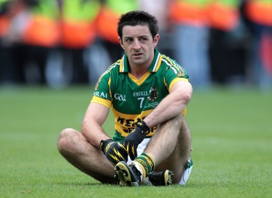Aidan O'Mahony has struggled with his injury for some time.