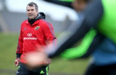 Anthony Foley shuffles his pack after taxing European double-header