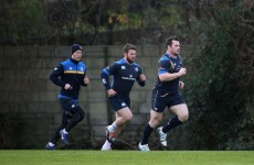 Sean O'Brien and Cian Healy should be back playing rugby in the next month or so