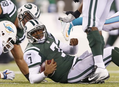 This has been a familiar sight for Jets fans this season.