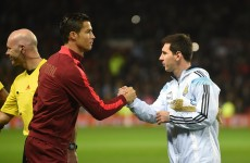 Denis Law thinks Ronaldo and Messi should share the Ballon d'Or