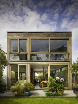 The home of architect John McLaughlin,