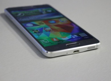 The Galaxy Alpha was released in Ireland in September, but is being phased out by Samsung.