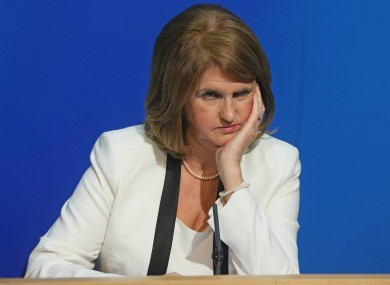 Joan Burton is not impressed at the idea that NAMA will pay bonuses to developers