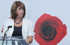 Joan Burton wants us all to talk about the economy next year