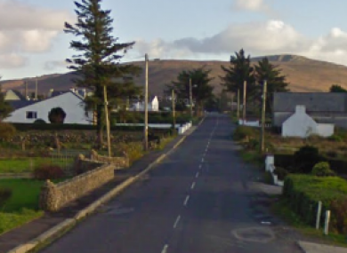 The R257 road in Donegal (File photo)