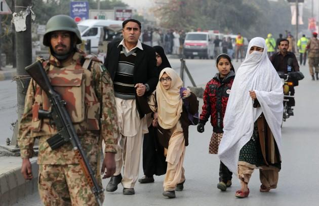 Terror Deaths in Pakistan Terror Assault on Pakistan