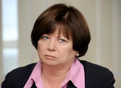 Not happy: Mary Harney