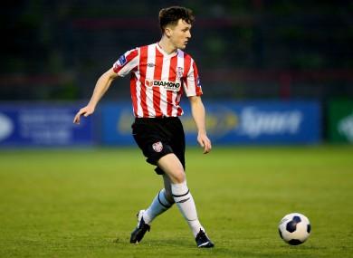 Former Derry City defender Roddy Collins Junior.