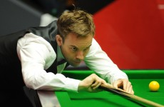 Ali Carter has been given the all-clear from lung cancer