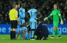 Injuries to Vincent Kompany and Edin Dzeko overshadow Man City's win