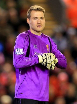Mignolet has been dropped after a number of mistakes this year.