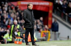 'We did enough to win the game, it epitomised our season really' bemoans Brendan Rodgers