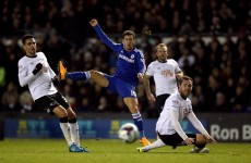 Eden Hazard capitalises on Richard Keogh's mistake to send Chelsea on their way