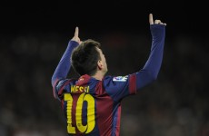 Lionel Messi moves onto 202 La Liga goals with hat-trick against Espanyol