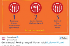 Tesco tried to help people use up their Christmas leftovers, but it didn't quite go to plan