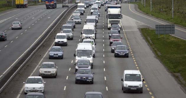 Which county's drivers clocked up the most miles last year?
