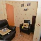 Basil's living room in Henderson Avenue – the murder scene.