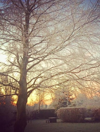 Wearing your thermals? You should be, it's Baltic out there today