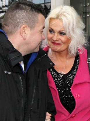 Jim Doyle and Fiona Doyle