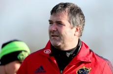Munster are speaking to high-quality transfer targ