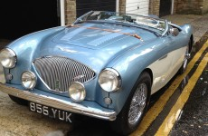 This extremely distinctive car was stolen on Christmas Eve
