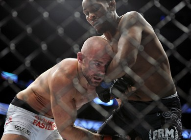 Cathal Pendred and Sean Spencer fought on Sunday night's UFC Boston prelims.