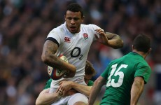 Blow for England as explosive Lawes set to miss start of Six Nations