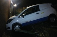 Drink-driver crashes his car… into a police station
