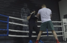 A look inside Carl Frampton's training camp four weeks before his world title defence