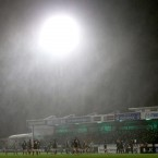 Conditions in the Sportsground for Connacht v Edinburgh were pretty appalling.<span class=