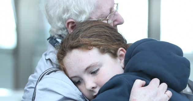 Photos: Sad scenes at Dublin Airport as Irish emigrants say goodbye
