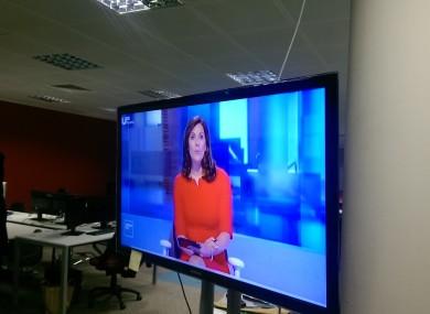 Alison Comyn hosting Ireland Live.